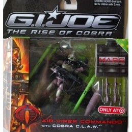 Air viper commando with cobra c.l.a.w.