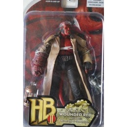 Hellboy 2 series 2 Wounded red