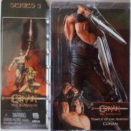 Conan the barbarian Temple of the serpent