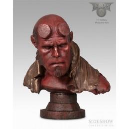 Hellboy faux-bronze 1:1 scale maquette
