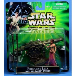 Princess Leia with sail barge cannon deluxe