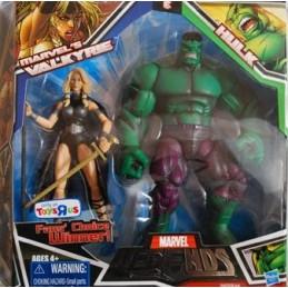 Marvel legends 2 pack Marvel's Valkyrie & Hulk