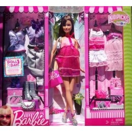 Barbie kidpicks brune version