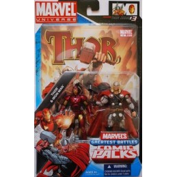 Marvel universe comic packs Thor VS Iron man