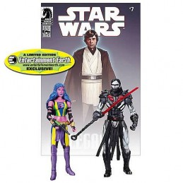 Darth Nihl and Deliah Blue Legacy n°7 comic book reprint