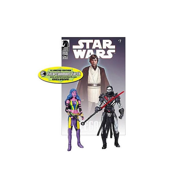 Darth Nihl and Deliah Blue Legacy n°7 comic book reprint