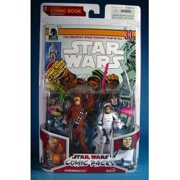 Chewbacca & Han Solo