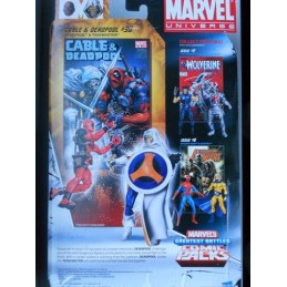 Marvel universe comic packs Deadpool & Taskmaster
