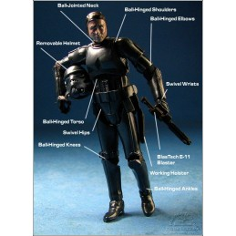 Stormtrooper & blackhole hologram