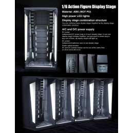 1/6 scale display case / stage only with LED lights (light-up function)