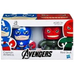 Mini Muggs 2-pack The Avengers Captain America & Red Skull