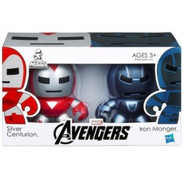 Mini Muggs 2-pack The Avengers Silver Centurion & Iron Monger