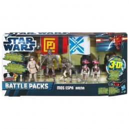 Star Wars Discover The Force 3-D Episode I Mos Espa Arena Battle Packs